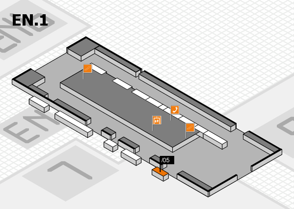 interpack 2017 hall map (North Entrance 1): stand .05
