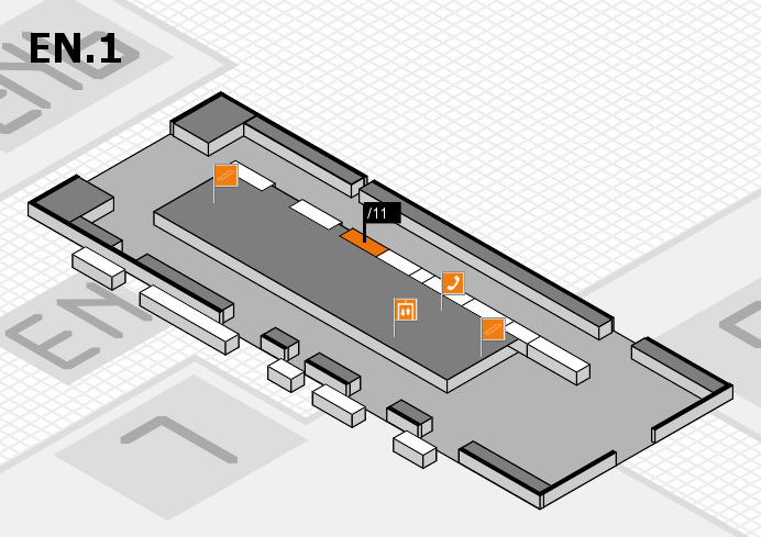 interpack 2017 hall map (North Entrance 1): stand .11