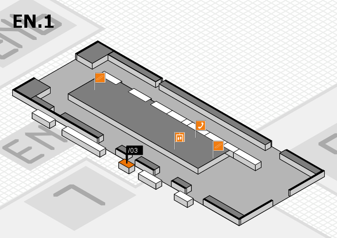 interpack 2017 hall map (North Entrance 1): stand .03