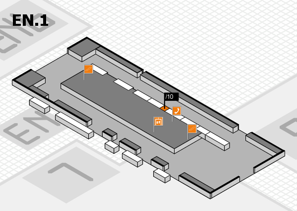 interpack 2017 hall map (North Entrance 1): stand .10