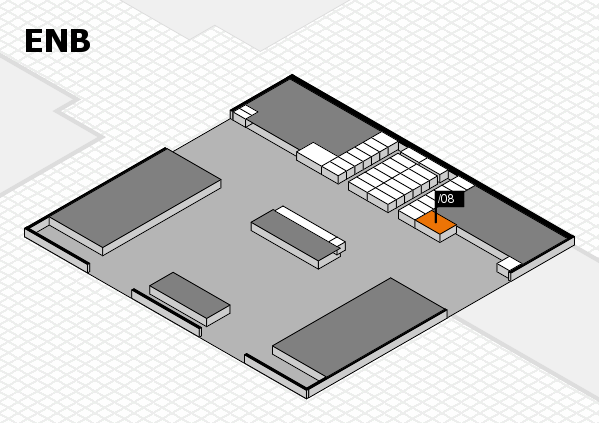 interpack 2017 hall map (North Entrance B): stand .08