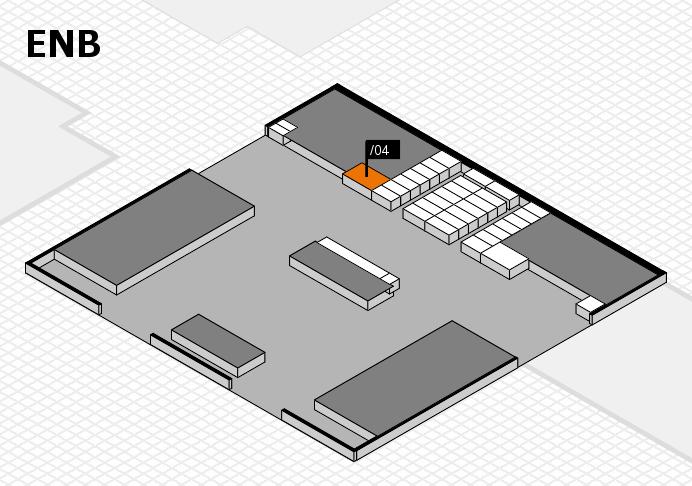interpack 2017 Hallenplan (Eingang Nord B): Stand .04