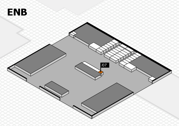 interpack 2017 hall map (North Entrance B): stand .07