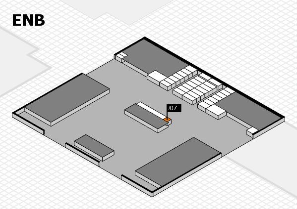 interpack 2017 Hallenplan (Eingang Nord B): Stand .07