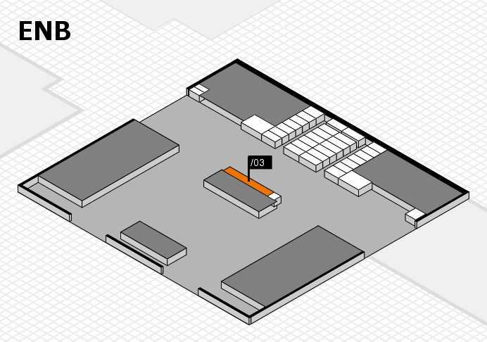 interpack 2017 hall map (North Entrance B): stand .03