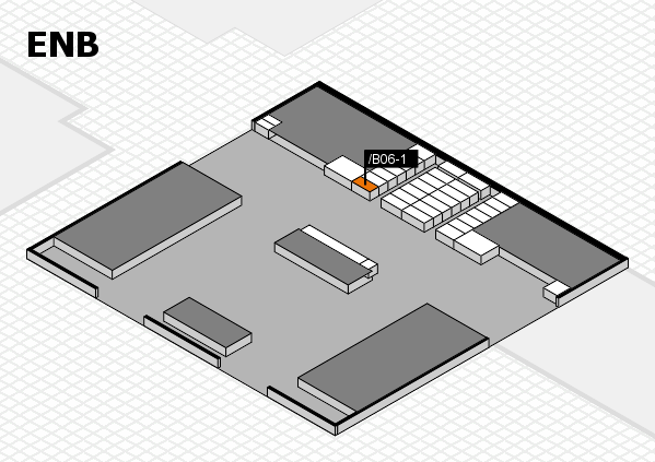 interpack 2017 hall map (North Entrance B): stand .B06-1