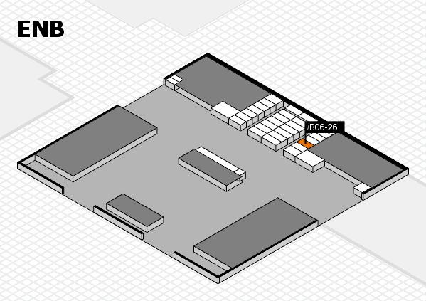 interpack 2017 Hallenplan (Eingang Nord B): Stand .B06-26