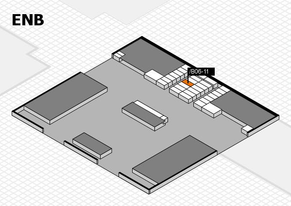 interpack 2017 Hallenplan (Eingang Nord B): Stand .B06-11