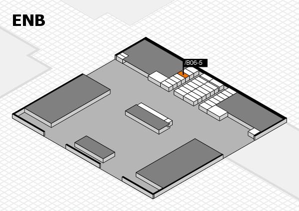 interpack 2017 Hallenplan (Eingang Nord B): Stand .B06-5