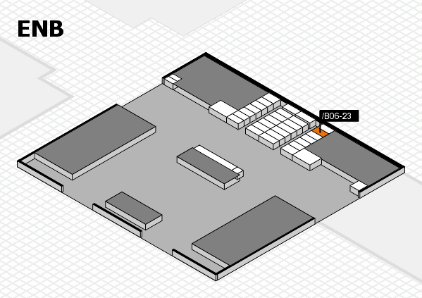 interpack 2017 hall map (North Entrance B): stand .B06-23