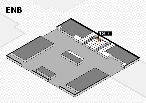 interpack 2017 hall map (North Entrance B): stand .B06-13