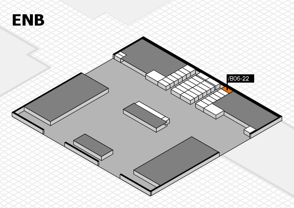 interpack 2017 hall map (North Entrance B): stand .B06-22