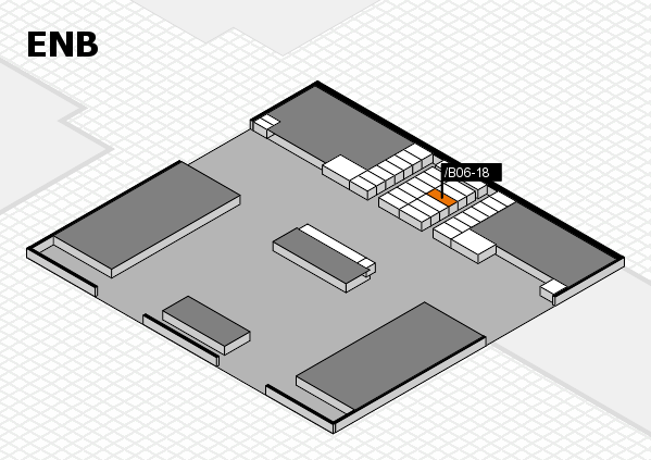 interpack 2017 hall map (North Entrance B): stand .B06-18