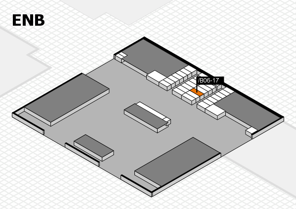 interpack 2017 hall map (North Entrance B): stand .B06-17