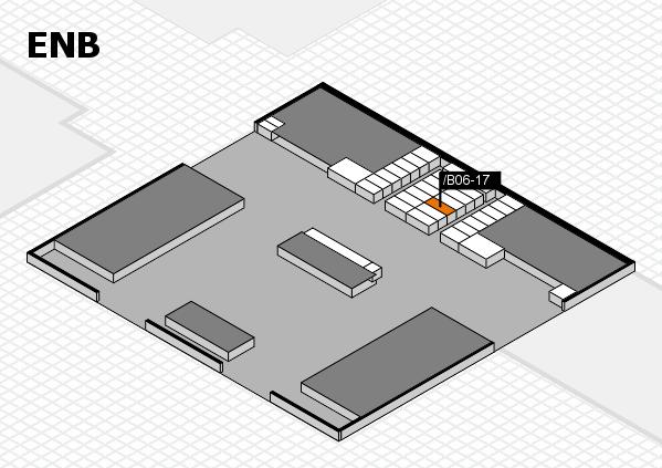 interpack 2017 Hallenplan (Eingang Nord B): Stand .B06-17
