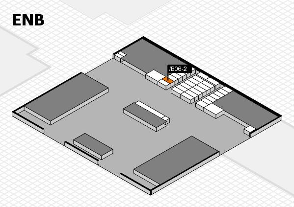 interpack 2017 Hallenplan (Eingang Nord B): Stand .B06-2