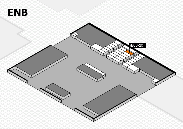 interpack 2017 hall map (North Entrance B): stand .B06-20