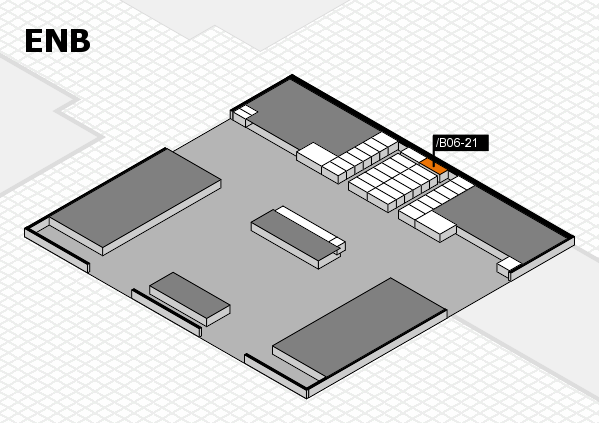interpack 2017 hall map (North Entrance B): stand .B06-21