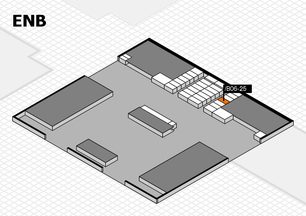 interpack 2017 hall map (North Entrance B): stand .B06-25