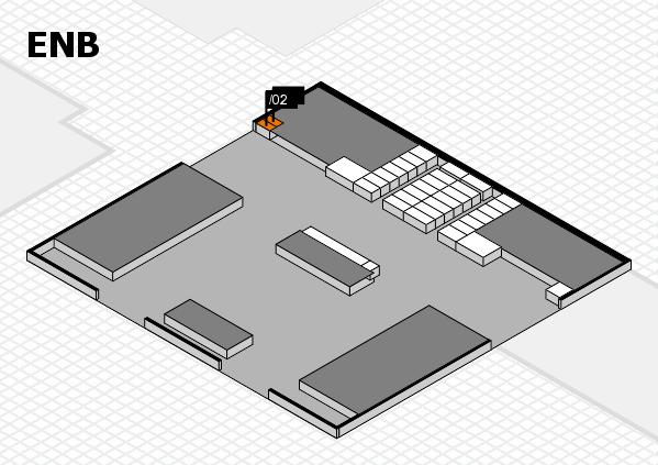 interpack 2017 Hallenplan (Eingang Nord B): Stand .02