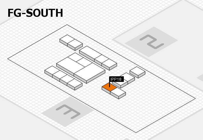 interpack 2017 hall map (OA South): stand IPP18