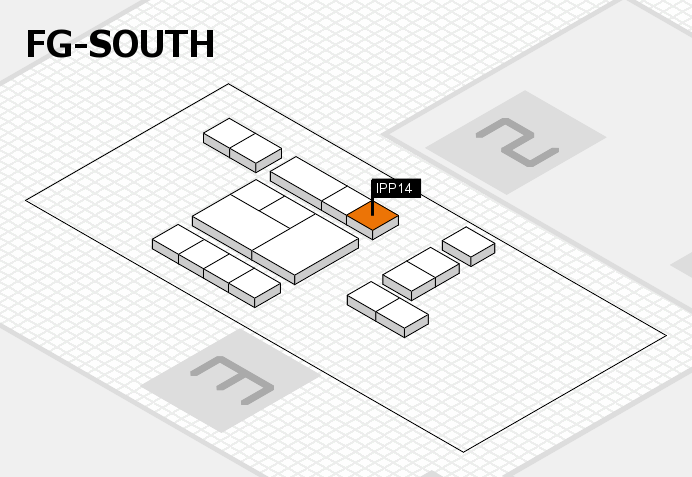 interpack 2017 hall map (OA South): stand IPP14