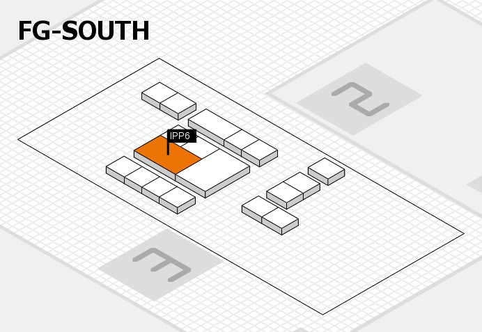 interpack 2017 hall map (OA South): stand IPP6