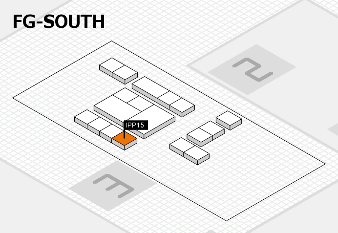 interpack 2017 hall map (OA South): stand IPP15