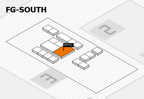 interpack 2017 hall map (OA South): stand IPP13