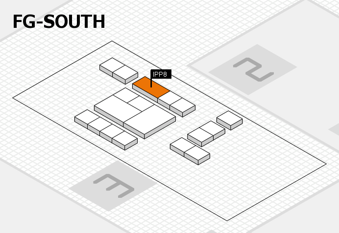 interpack 2017 hall map (OA South): stand IPP8