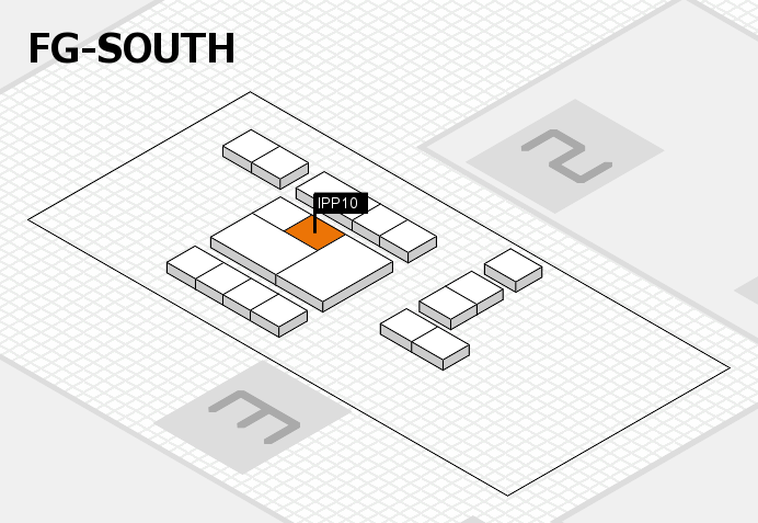 interpack 2017 hall map (OA South): stand IPP10