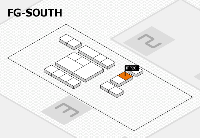 interpack 2017 hall map (OA South): stand IPP20