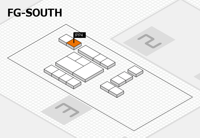 interpack 2017 hall map (OA South): stand IPP4