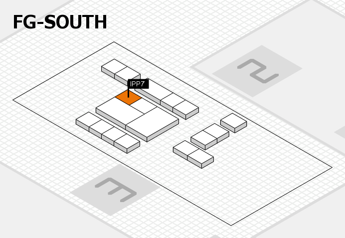 interpack 2017 hall map (OA South): stand IPP7