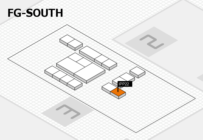 interpack 2017 hall map (OA South): stand IPP22