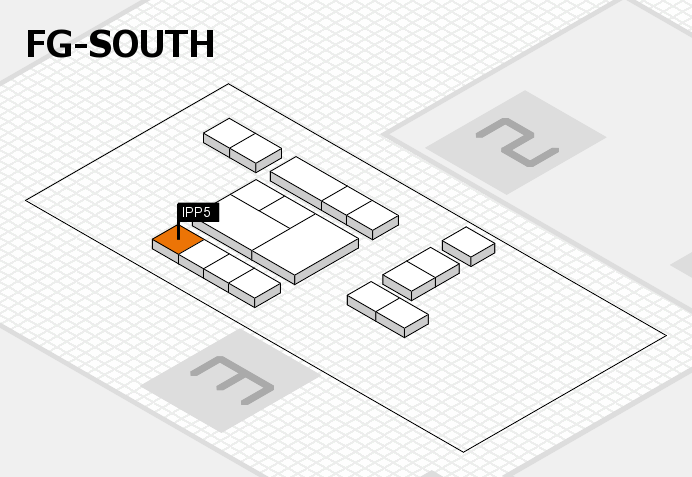 interpack 2017 hall map (OA South): stand IPP5