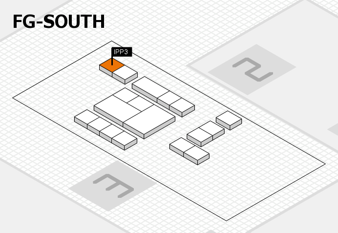 interpack 2017 hall map (OA South): stand IPP3