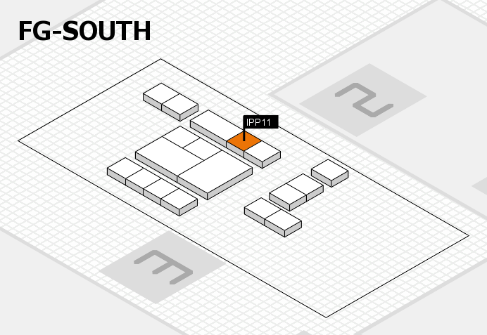 interpack 2017 hall map (OA South): stand IPP11