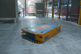 Automatic TGV vehicles for Platforms and Rollers Box Handling.