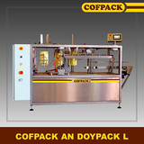 PACKAGING MACHINE INTO PRE MADE POUCHES