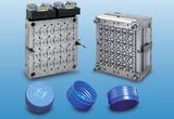 48-fach Heißkanalwerkzeug für 30/25-Mineralwasserverschlüsse. Material: HDPE