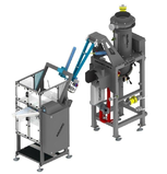 Pneumatic bagging machine