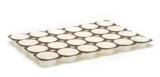 TEGLIE MUFFINS 4 OZ 6x4 | Cardboard muffin tray