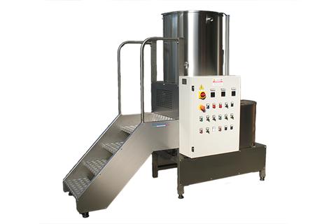 Cream machine preparation