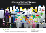 EC Pack 01 Shampoo Bottles & Closures