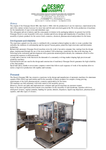 Interpack 2020 DESIRO