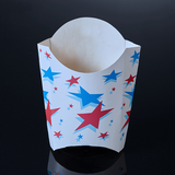 Custom logo french fries packaging and food chip cups
