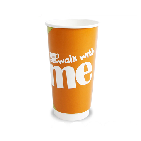 12oz Single Wall Biodegradable PE coated paper
