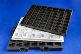 ESD Transport trays for electronics