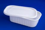 Container rectang 1l 210/140 PS Аlома white